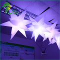 Fantasy Multi-color Ceiling Decoration Inflatable Star / Flashing LED Twinkle Light Up Star Balloons