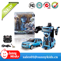 RC Transformation Toys One Key Remote