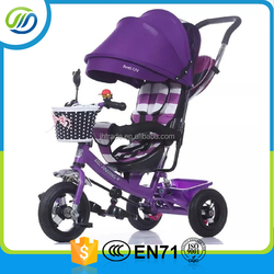 Baby three wheels carriage tricycle