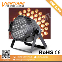 LED par light with RGBW 3 IN 1 54pcs 3w IP65 led par light for stage dj lighting