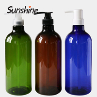 Plastic Cosmetic Containers for Lotion Shampoo Hand Wash