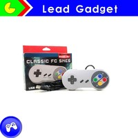 High Quality Video Game Wired Classic Controller For Snes/nes Game Joystick For Nintendo snes Usb Controller