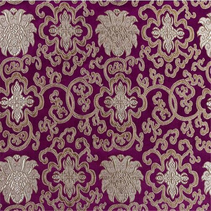 cheap price brocade fabric for making traditional clothes