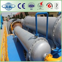Yongle Huayin waste plastic oil distillation factory