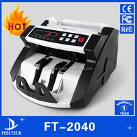 2016 latest money bill counting machine banknote note counter currency counting machine