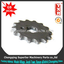 good performance motorcycle transmission gear,professional custom gy6 sprocket,forging duplex chain sprocket