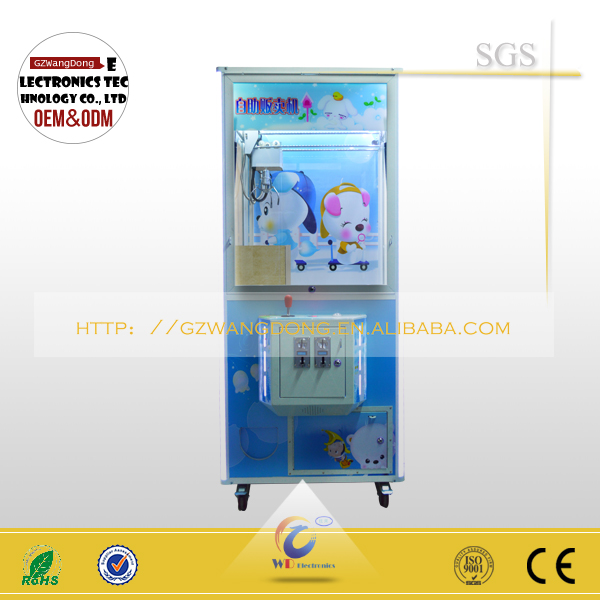 malaysia claw toy game,grab toys machine,wooden toys machine from Wangdong