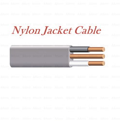 Nylon Jacket Cable 600V Underground Feeder Cable with PVC Insulation PVC Overall Jacket Moisture /Sunlight / fungus Resistant