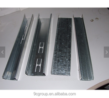 Light steel frame Galvanized metal Stud and track Drywall metal studs sizes