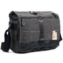 Besnfoto Wholesale Large Best New Casual Gray Photo Canvas Camera Bag