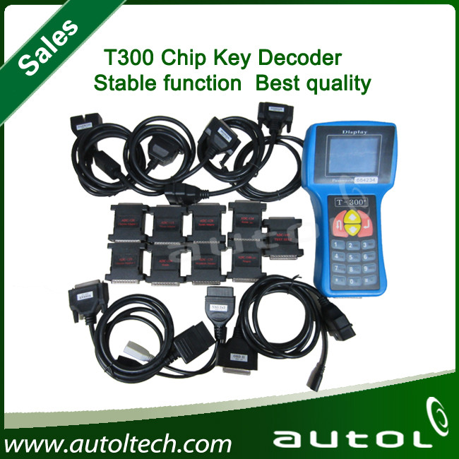 2016 professional obd2 auto car key programmer T300 diagnostic tool fast shipping