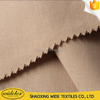 high quality tencel viscose linen fabric for dress with free sample