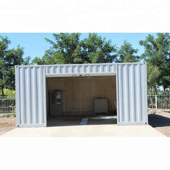 40GP China Popular Portable Container House Made from Shipping Containers