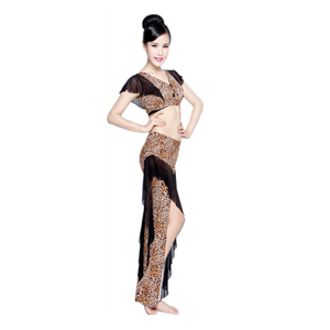 Newest Belly Dancing Costume Tops and Pants Suit for Performance Harem Trousers set Wear Set