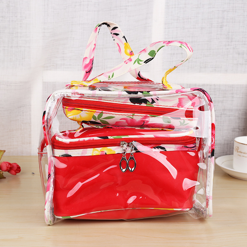 New design cute heart fashionable makeup cosmetic bag
