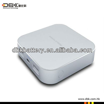 2013 new fashion design 6400mah power bank for ipad, samsung glaxy tab