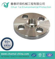 Forging CNC machining ss pipe din standard flange dimensions