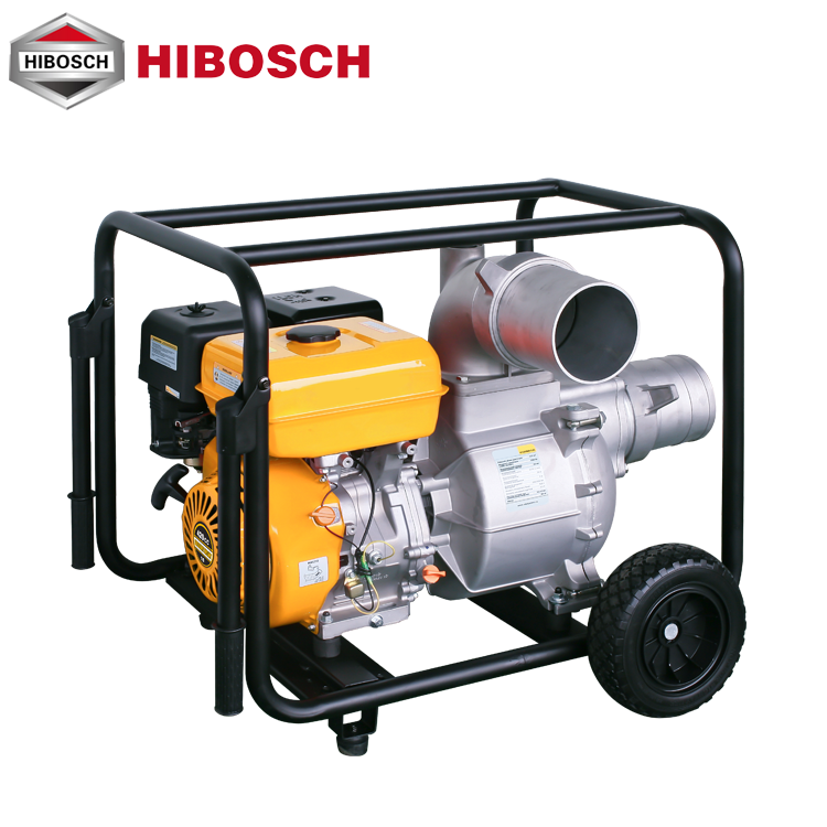 2018 high capacity 6 inch gasoline water pump