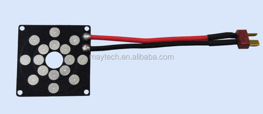 Maytech Power electrical distribution board for 4pcs ESC