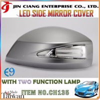 Car refit Door Mirror Cover LED SIDE VIEW MIRROR COVER FOR HONDAA CIVIC9