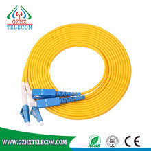 used party cable jumpers for sale SC-LC UPC/UPC 3M Singlemode Duplex Patch Cord fiber optical patch cable