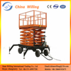 Mobile Electric Hydraulic Scissor Lift/One Man Lift Baskets