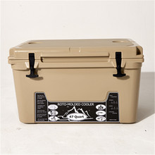 High quality roto-molded ice cooler box for fishing use