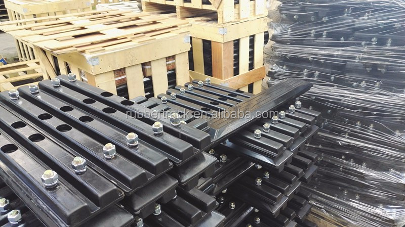 Hitachi EX60 Excavator Rubber Tracks Pads of 300mm 400mm 450mm 500mm 600mm