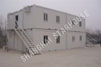 prefab modular container building for office, hotel , school, apartment