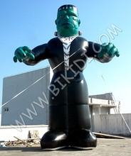 Latest inflatable Scary Vampire Halloween giant balloons, cold air giant balloon for halloween C1045
