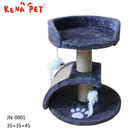 Simple Natural modern cat furniture cat scratching tree plastic toy pet plastic carriers