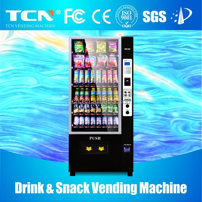 glass bottle vending machine