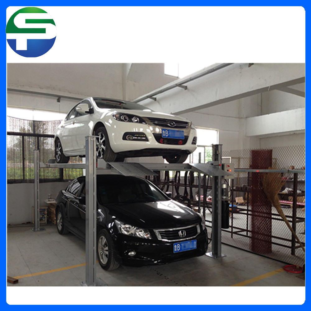 Home car lift intelligent parking system