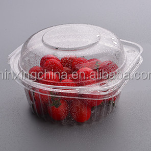 Disposable Feature and Accept Custom Order container for salad