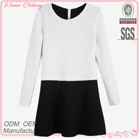Korean stylish casual young ladies dress fashion