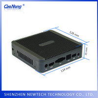 China wholesale standard aluminum X86 fanless heatsink mini industrial embedded pc
