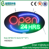 Hidly high quality new arrival led sign factory(HSO0231)