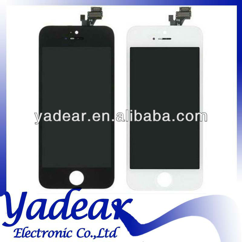 Original lcd for apple iphone 5 lcd display with digitizer touch panel screen assembly replacement