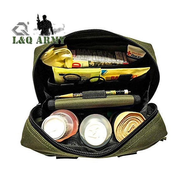 Tactical Family First Aid Kit Admin EMT Medical IFAK Utility MOLLE Pouch
