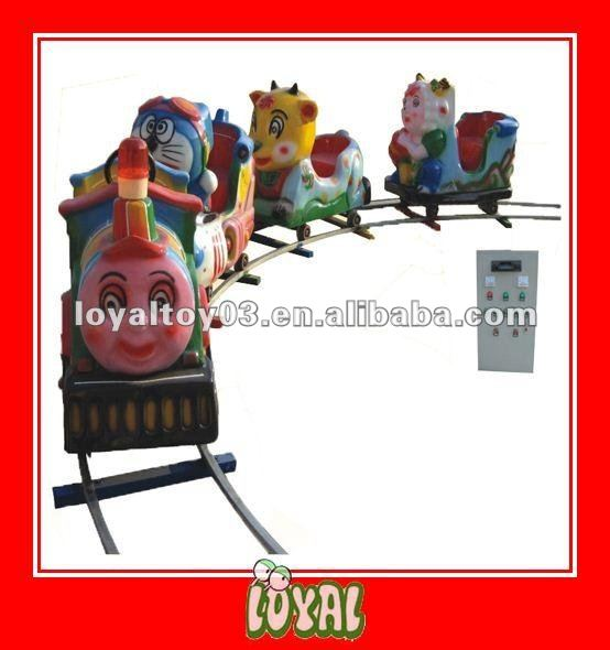 China Produced inflatable combo games with good quality and Cartoon Locomotive