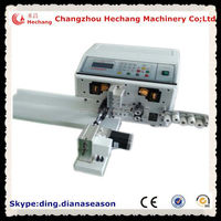 automatic wire stripping twisting wire rewinding machine