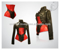 Corset And Short bolero In Leather