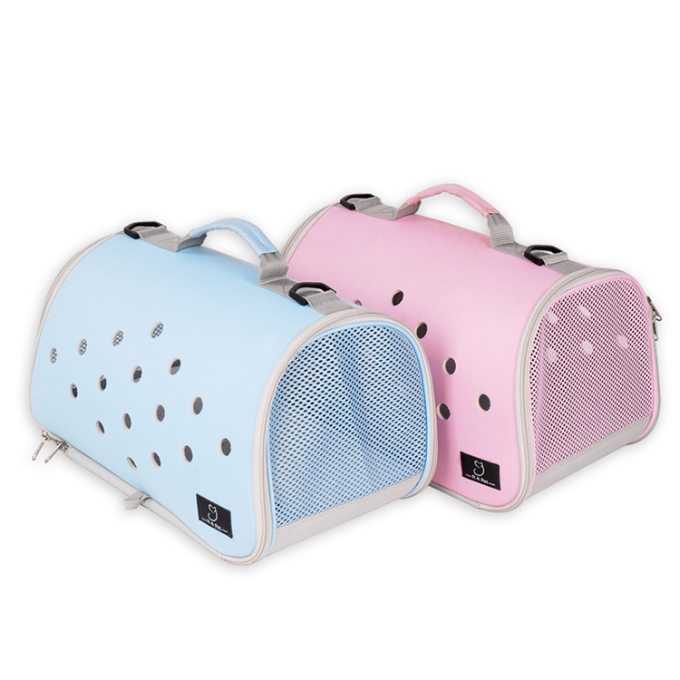 Customized portable airline approved cat dog pet carrier travel tote bag