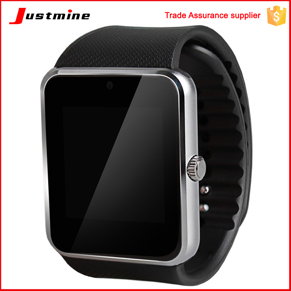 Good quality gt08 smart watch mobile phone with sim card