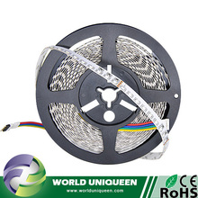 DC12V 120leds IP20 RGB SMD335 White PCB Side-firing LED Strip Light