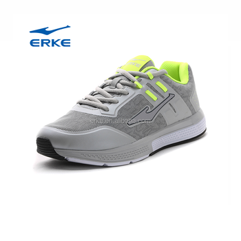 ERKE wholesale brand 2017 mens fashion sneakers PU mesh running sports shoes