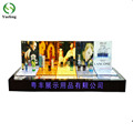 Modern Luxury Acrylic Cosmetic Display Stand Makeup Storage for Shopping Mall