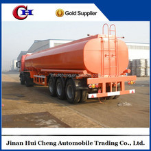 40M3 fuel oil tank semi trailer with carbon steel chassis for sale