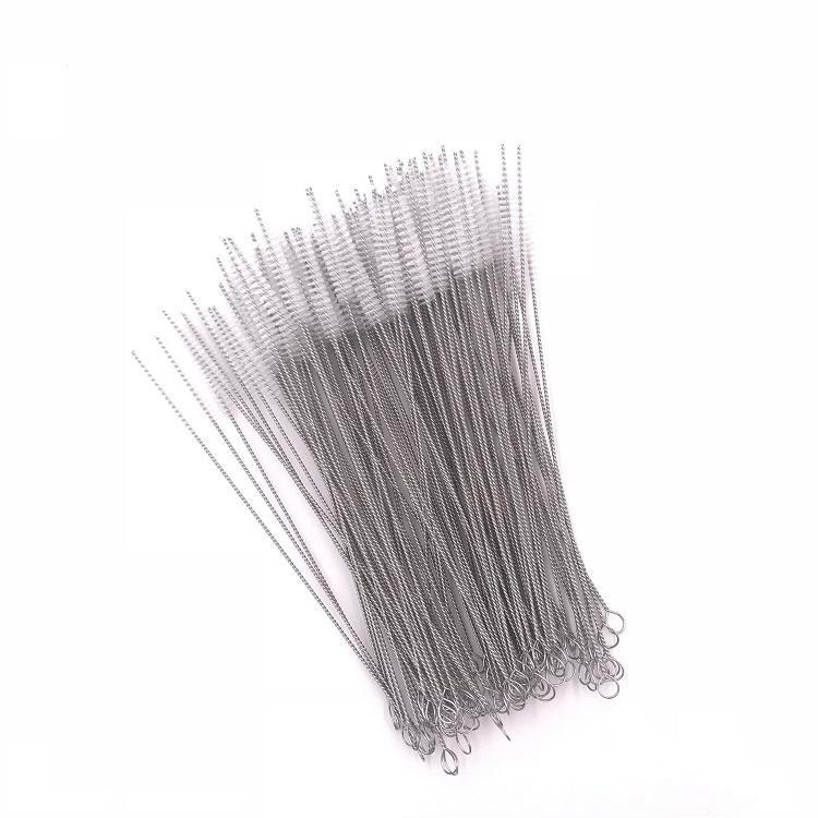 Food Grade Stainless Steel 18/8 Straw Cleaning Brush