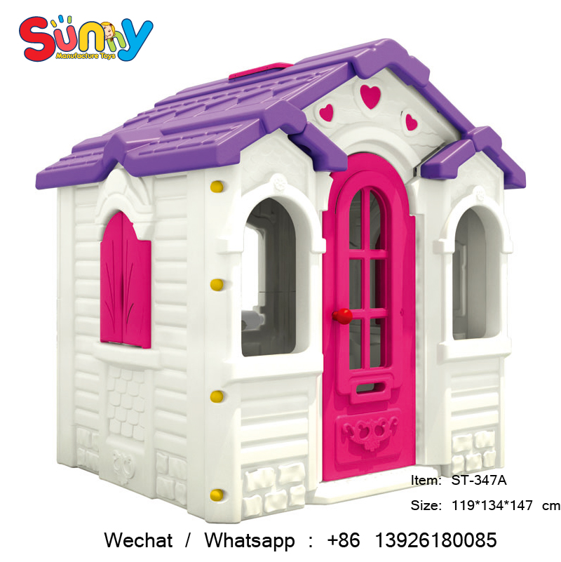 Outdoor kids playground play houses/kids plastic play houses